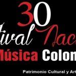 30ª. Versión del Festival de Música Colombiana.