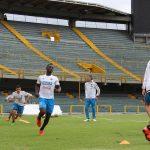 Práctica en El Campín en tercer día de trabajos de la Selección