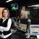 Vicky Dávila en la que hasta hace unos días fue su casa periodística durante nueve años: la FM, de RCN. Foto: elcolombiano.com