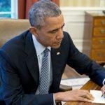 El presidente Obama fue de los primeros en utilizar el restablecido servicio postal entre Estados Unidos y Cuba.