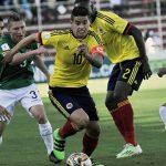 Empate entre Bolivia y Colombia