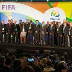 Sorteo oficial realizado este jueves 14 de abril en el estadio Maracaná de Rio de Janeiro