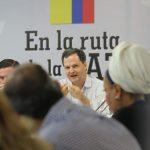 foro En La Ruta de la PazEncuentros de Diálogo Político del Ministerio del Interior, el alto Comisionado para la Paz, Sergio Jaramillo