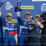 Julián Leal arrancó con podio en      European Lemans Series4 (1)