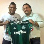 Miguel Ángel Borja nuevo jugador del Palmeiras