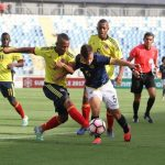 Los dirigidos por Orlando Restrepo se impusieron 2-1 a los ecuatorianos con goles de Jamilton Campaz y Juan Martínez.