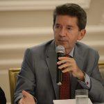El Gobernador de Antioquia, Luis Pérez,