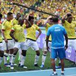 James Celebra Gol ante Bolivia 230317A