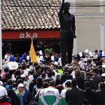 Estatua de Galán el Soacha