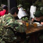 Desplazamiento de las tropas de las Farc hacia las zonas veredales