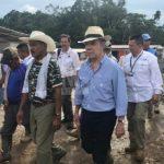 Santos visita zona veredal de La Carmelita, en Putumayo