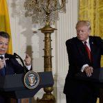El Presidente Juan Manuel Santos dijo que las bases está sentadas para incrementar el comercio y la inversión entre Colombia y Estados Unidos, tras concluir su histórica reunión con el Presidente Donald J. Trump.