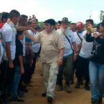 Timochenko a su llegada a la zona veredal de Tibú, Norte de Santander