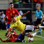 El amistoso entre España y Colombia, en imágenes 3 (2)