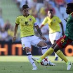 Colombia 2- 0Camerum