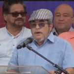 el jefe de las Farc, Rodrigo Londoño (1)