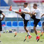 Alemania prepara su semifinal ante México