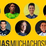 Siete Magnificos colombianos en el Tour