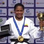 Yuri Alvear triple campeona mundial