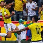 Falcao Celebra gol ante Brasil 050917