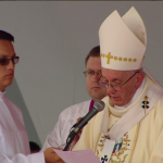 Papa Francisco en Villavicencio y Mensaje 2017-09-08 (1)