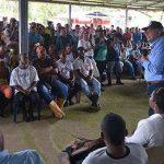 El Vocepresidente en La Balsa, Tumaco