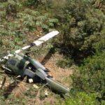 Helicóptero del Ejército se accidentó y dejó 10 heridos en Antioquia