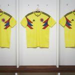 La camiseta que Colombia utilizará en Rusia 2018. Fotos: oficina de prensa Adidas