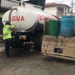 servicio de agua potable en Corinto, Cauca
