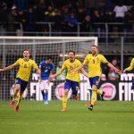 Suecia deja fuera a Italia y es mundialista