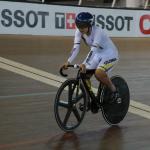 colombiano Fabián Puerta logró la noche de este jueves su tercera medalla de oro