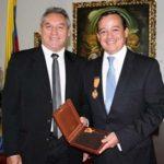 Foto: Senado.gov.co Senador Rodrigo Romero y Julian Marulanda Calero.