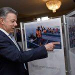 Presidente inauguró exposición fotográfica #AsíConstruimosPaz