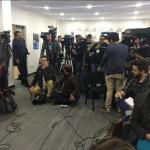 rueda de prensa con JPerezAquino jefe de ObservadoresONUCOL