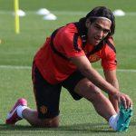 Falcao en Manchester United 2