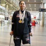 Carolina Munevar, BRONCE en el Mundial de pista Paralímpico 2018