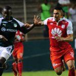 El Cali venció 3-0 a Santa Fe en Palmaseca.