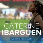 Caterine Ibargüen logró triunfo 30 en la Liga Diamante