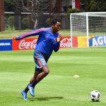 Tercer día de actividad de la Selección Colombia