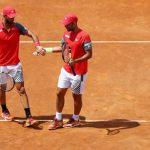 Los tenistas Robert Farah y Juan Sebastián Cabal. Cortesía Fedecoltenis