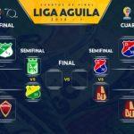 Definidas las semifinales de la Liga Aguila I-2018
