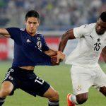 Japon perdio con Ghana