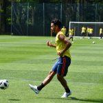 Colombia entrena antes de salir para Rusia (2)
