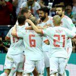 España vence a Irán y lidera grupo B 1
