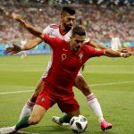 Portugal igualó con Irán 8