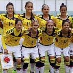La Selección Colombia Femenina que disputa en Ecuador la Copa América.