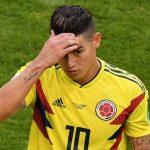 James Rodriguez entredicho para Inglaterra