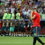 España se fue de Rusia 2018E