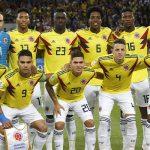 COLOMBIA ANTE INGLATERRA