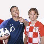 Francia, Bélgica, Inglaterra y Croacia Semifinalistas